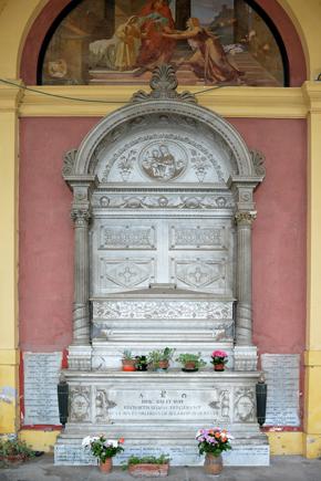 Posizione Quadriportico: lato destro, arcata XVII