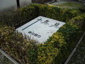 Posizione Nuovo Reparto: riquadro 86, tomba 123