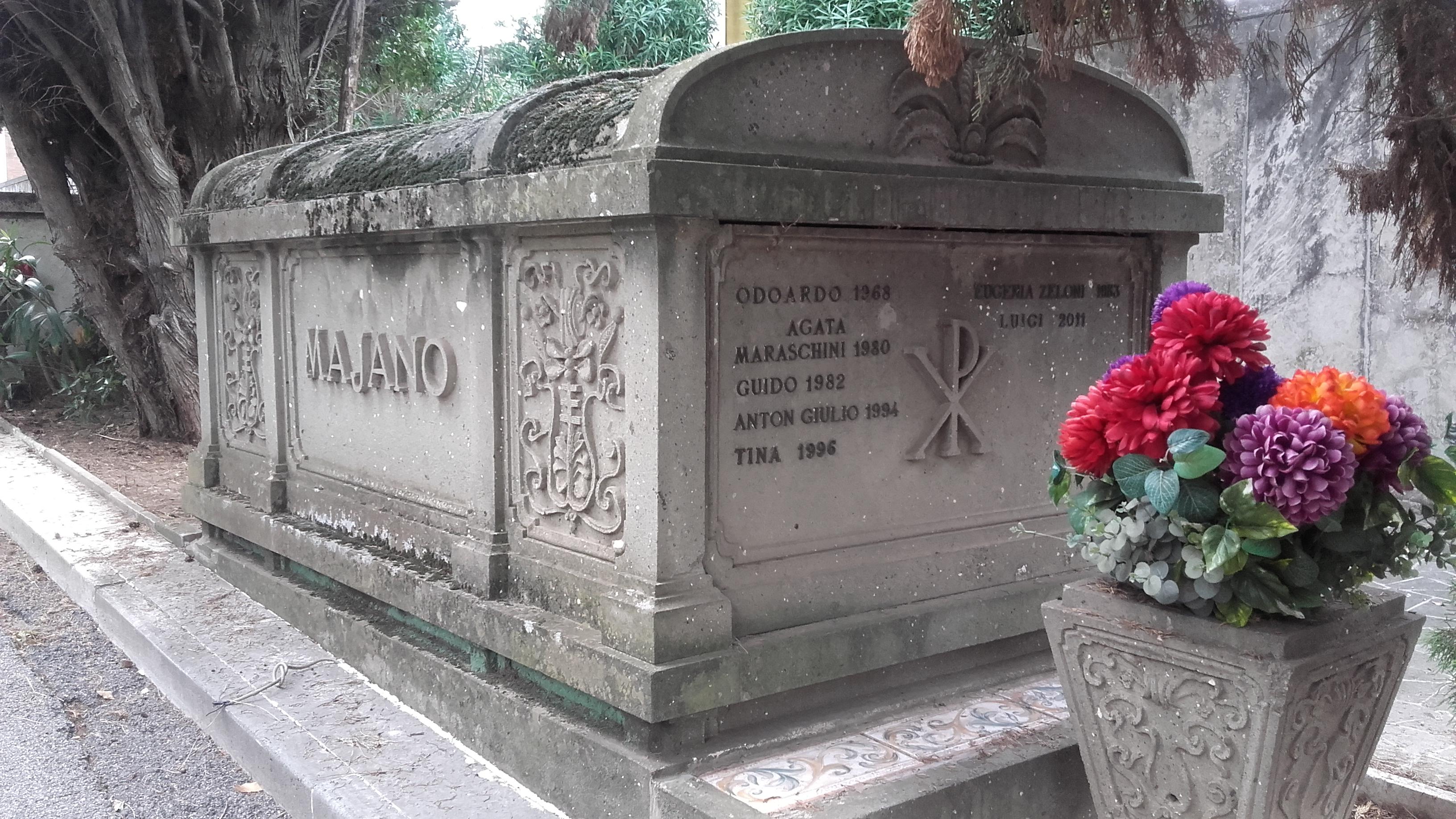 Posizione Arciconfraternita dei Trapassati, Lotto III, marciapiede 8, Arca