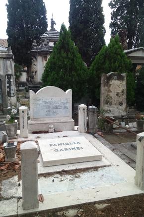 Posizione Pincetto Vecchio, riquadro 25, tomba 57