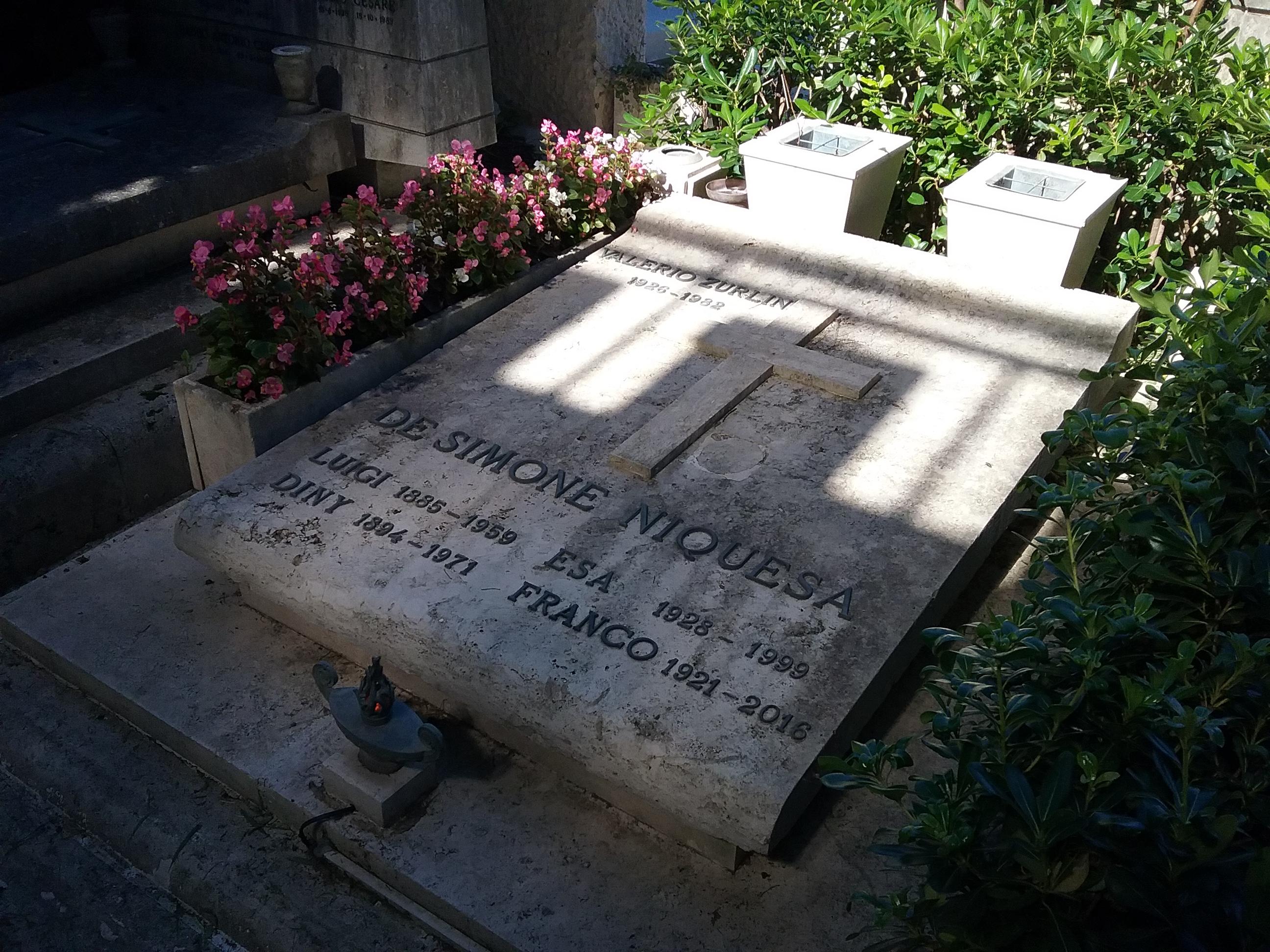 Posizione Monte Portonaccio, 2° Gradone, tomba 34